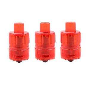 One Disposable 23.5mm Sub Ohm Tank Clearomizer 3.0ML (3PCS) - Red