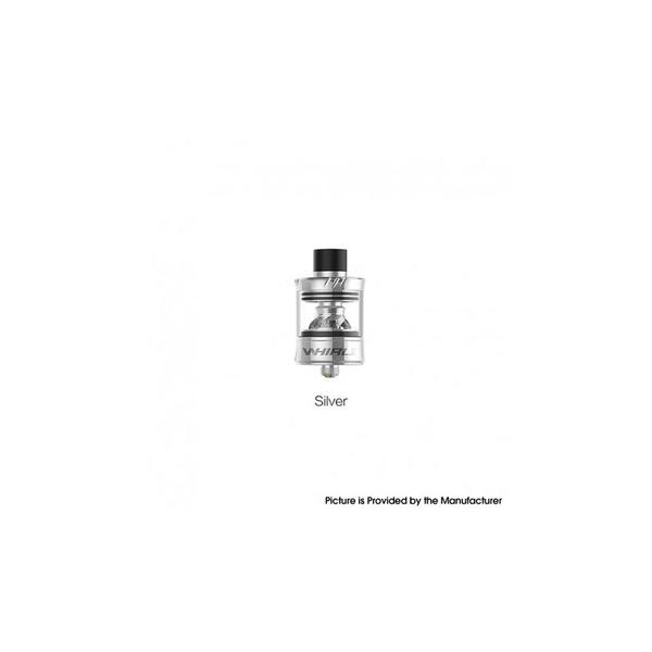 Whirl II 2 Tank Clearomizer Vape Atomizer - 3.5ml, 0.6ohm Restricted DTL / 1.8ohm MTL, 25mm Diameter - Silver