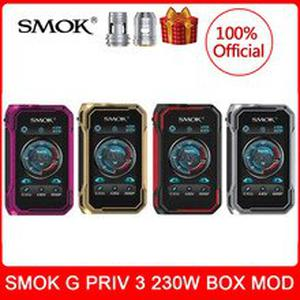 [coils gift] In stock!  G-PRIV 3  230W Touch Screen Vaporizer vape E-Cigarette Support TFV16 LITE Tank vs x-priv