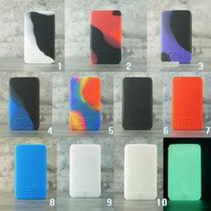 1pcs Silicone case for  GEN Mod Vape kit  protective texture skin rubber sleeve shield wrap cover fit  gen