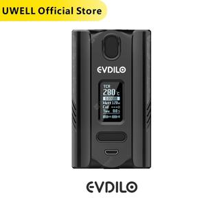 UWELL EVDILO KIT Max 200W MOD with 6ml Cube Vape Tank Fit with 18650 20700 21700 batteries Mod E Cigarette