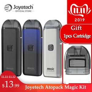 Gift Cartridge Original  Atopack Magic Pod System Kit Coil-less 0.6ohm NCFilm Heater Built in 1300mAh E-Cig