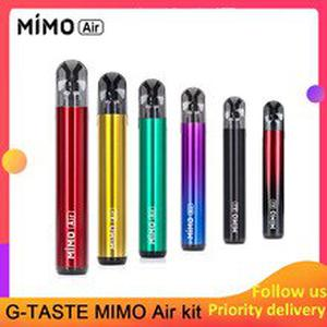 Vape Kit G-taste MIMO Air Pod Kit with 2pcs pod 1.8ohm 450mah Built-in Battery 1.3ml Pod System VS Justfog Minifit