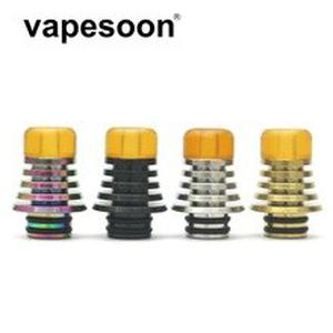 15pcs/lot Berserker Short Drip Tip 510 Stainless Steel PEI Drip Tip Four Color in stock normal shipping