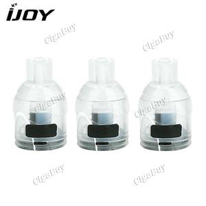 3 x  IJOY VPC POD Cartridge 2ml 1.0ohm - Yellow Acrylic