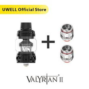 UWELL Valyrian II Tank with 1 Pack Valyrina II Replacement Coil UN2 Single/Dual/Triple Meshed Coil E-cigarette Vape Tank