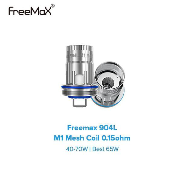 6PCS Freemax 904L M Mesh Coils M1 M2 M3 M4 Replacement Cores for Freemax Fireluke 3/2/ M Tank