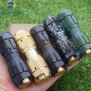 Electronic Cigarettes Vape mod mcmmoos mod double 18650 20700 21700 25mm brass Mechanical Mod for rda rta rtad mtl mods vs sob