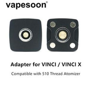 Electronic Cigarette DIY Connector 510 Adapter for  VINCI / VINCI X Kit Pod with 510 Thread Atomizer Vape