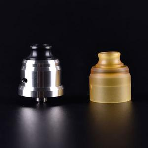 Wave Style 22mm RDA + PEI Cover+ PEI Drip Tip Kit 22mm by Shenray - Yellow