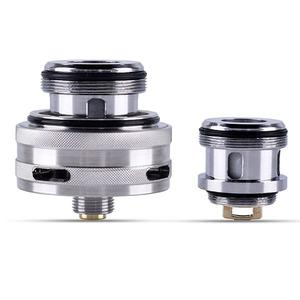 Tisno Replacement Base for TF GT4 RTA Atomizer  w/ 0.15ohm Coil  - Silver