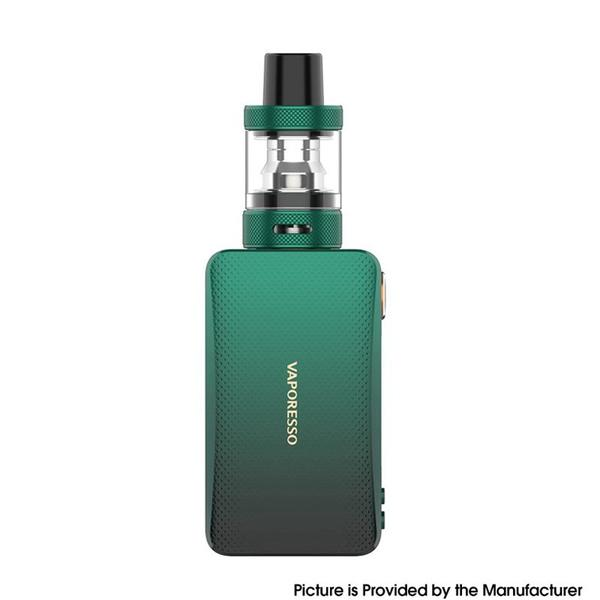 Gen Nano 80W 3.5ml 2000mAh TC VV VW Mod Vape Starter Kit with GTX Tank 22 - Green
