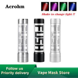 Pre-order  Fush 18650 Semi-Mech MOD with Breath Light  & 0.01s Firing Speed Electronic Cigarette Vape Mod vs Vinci X Mod