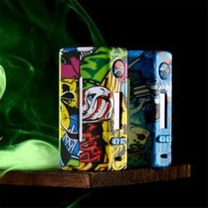 Vape cige VTX100W  Vapes Fashion Mod Support Dual 18650/26650 Battery Electronic Cigarette RDA RBA RDTA