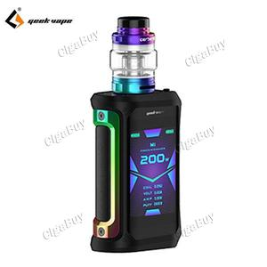 Aegis X 200W TC Starter Kit - 7 Color Black