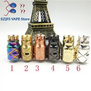 AX comp lyfe style RDA electric cigarette 24mm diameter fit 510 wire rebuildable  drop tank atomizer large steam tank RDA vsGEN