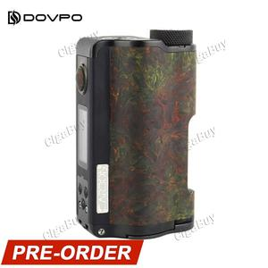 DOVPO Topside Dual Carbon 200W Squonk Mod - Carbon Rusty