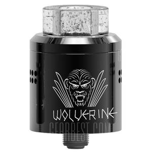 Wolverine RDA with Gold-plated Postless Deck