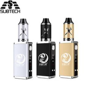 Original 80w vape kit Built-in 2200mah battery with 3.5ml tank electronic cigarette LED display 0.3ohm coil box mod vaporizer