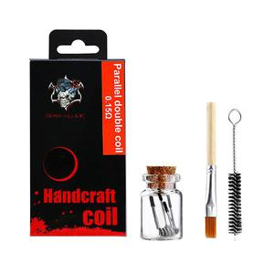 Parallel double coil NI80 3X0.3+0.12+0.6 Coils Tool KIT 0.15ohm - Multicolor