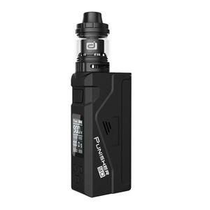 Punisher 90W TC VW  w/ DJ Atomizer 2.3ml Kit - Black