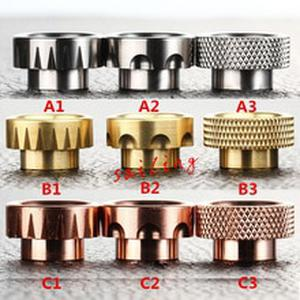 Sailing Vape New Available Durable Metal Drip Tips for kennedy 24 Goon RDA Rebuilt Tank Atomizer