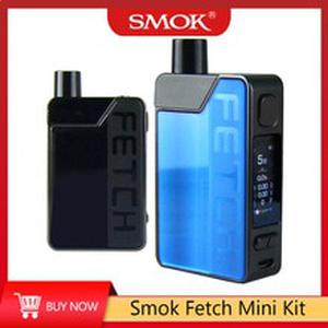new arrival upgraded  Fetch Mini pod system vape kit 40W 1200mAh built in battery mod pod Electronic Cigarette Pod Vape Kit