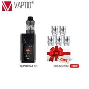 Gift Vape kit  Super Bat kit 220W TC/VW box Mod fit 18650 Battery 510 thread atomizer 2.0/5.0ml support dropshipping