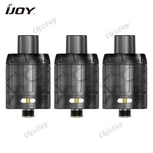 3 x  IJOY Mystique Mesh Tank Atomizer 3ml - Black