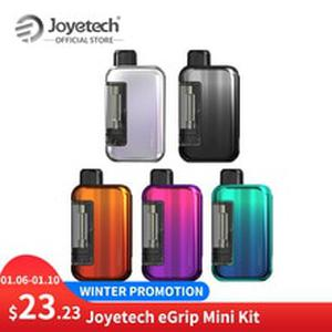 New Arrival Original  eGrip Mini Kit Built in 420mAh Battery 1.3ml Capacity 1.2ohm NiCr Coil VS exceed Grip  E-Cig