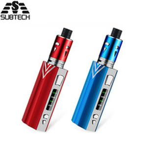 Newest! 100W vape kit 2000mah bulit-in battery with LED Screen vape Huge Vapor Electronic Cigarette high quality vaporizer