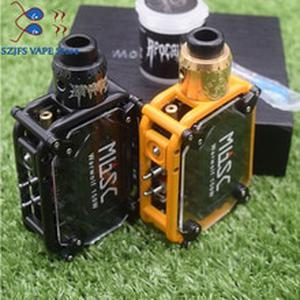 Electronic cigarette Warwolf 150W  Kit vape with Apocalypse GEN 25 RDA tank Atomizer e-cigarette output 3500mAh battery