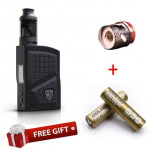 Vgod Pro 200 Kit (Get GOLISI IMR 18650 25A 3000mAh Battery with Flat Top and  Sub Ohm Tank Replacement Coil Head 5pcs for free)