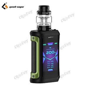 Aegis X 200W TC Starter Kit - Green Black