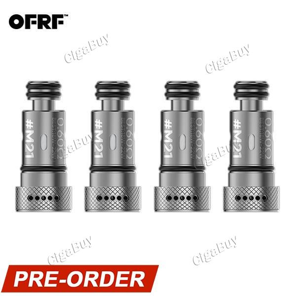 4 x  OFRF M21 Parallel Coil 0.6ohm