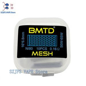 Electronic Cigarette Wire Premade BMTD KA1 Mesh Coil 16*6.8mm (45-65W)  0.16ohm pre-built coil for Rda atomizer vape accessory