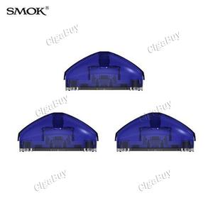 3 x  Smok Pod Cartridge for Rolo Badge- Transparent Blue