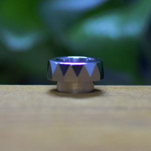 810 Stainless Steel Drip Tip - Silver