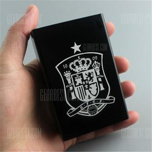 2018 Football Fans Supplies Aluminum Alloy Cigarette Case