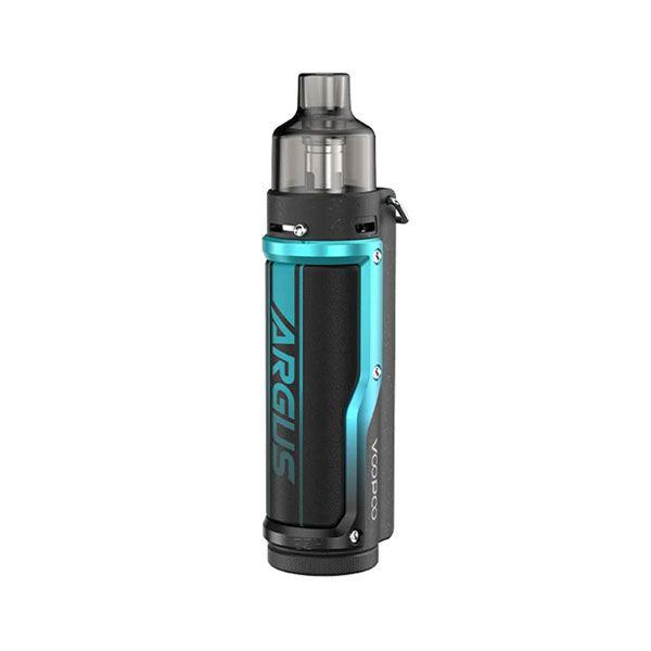 Argus Pro Pod System Vape Mod Kit - VW 5~80W, 3000mAh, 4.5ml, 0.15ohm / 0.3ohm - Litchi Leather Blue