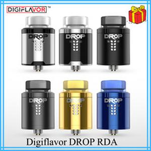 Original  Drop RDA BF squonk 510 pin 24mm electronic cigarette tank large post-holes Stepped airflow design VS zeus x