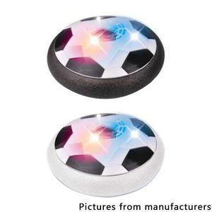 Colorful lights electric universal cushion football (Have music) - Black/White