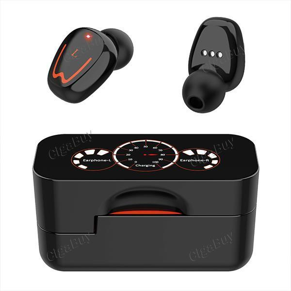 TWS Wireless Bluetooth Headsets Rotates Open Cover Touch Motion Noise Reduction