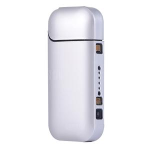 IQOS Smooth Feeling PC Protective Case for Electronic Cigarette Series 3/2 Silve