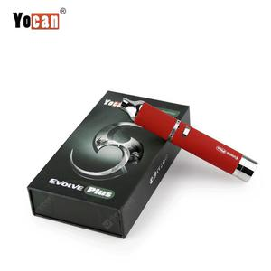 Original  Evolve Plus Dab Wax Vape Pen Kit with 1100mAh Battery QDC Coil Oil Dry Herb Vaporizer