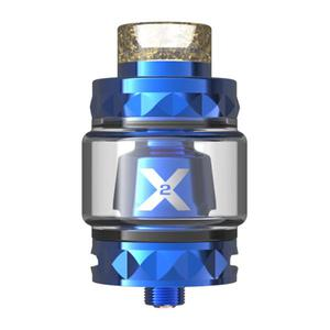 Vapemons X2 24mm Sub Ohm Tank Clearomizer 4.0ML/5.0ML - Blue