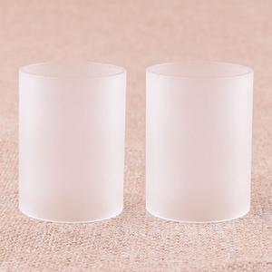 Replacement Glass Tank 5.0ml for TF GT4 Atomizer by  (2PCS) - Frosted Transparent color