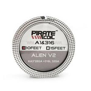 Newest Ture 3-core Alien V2 Heating Wire High Density Ni80 316L Alien Heating Wire for RDA RBA RTA Vaporizer DIY Coils Building