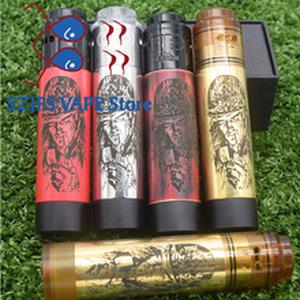 Mechanical mod 18650 battery Vaporizer VAPE with QP Design KALI V2 RDA vs Pharaoh sob Mech mods kit for rda rta mtl rtad