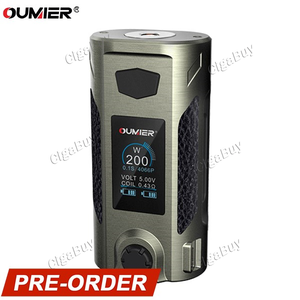 Oumier Rudder 200W TC  - Brushed Silver